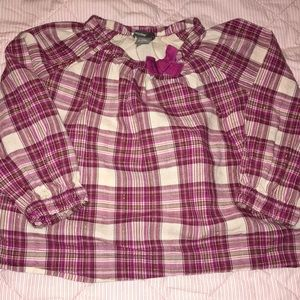 Baby Gap- Long Sleeve Blouse- Size 18-24 months